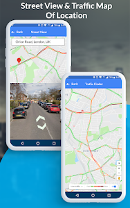 screenshot of GPS Maps, Voice Navigation & Traffic Road Map version 1.4