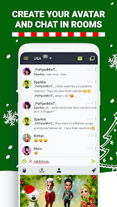 screenshot of Anonymous Chat Rooms - Galaxy version 9.3.10