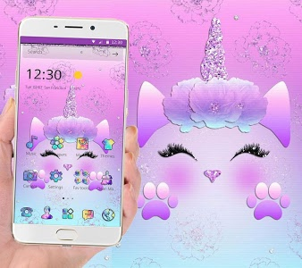 Galaxy Cute Unicorn Glitter