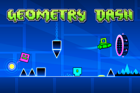 screenshot of Geometry Dash Lite version 2.2