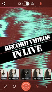 screenshot of Glitch Video Effects -VHS Camera Aesthetic Filters version 2.2