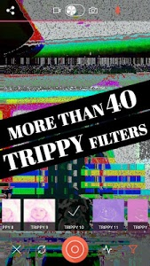 screenshot of Glitch Video Effects -VHS Camera Aesthetic Filters version 3.2.3
