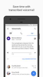 screenshot of Google Voice version 2018.28.203709381