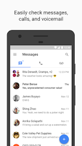 screenshot of Google Voice version 5.10.194878105