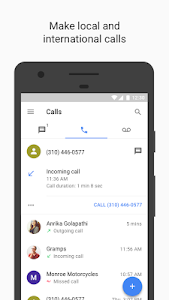 screenshot of Google Voice version 2018.24.199803360