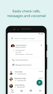screenshot of Google Voice version 2019.18.246353881