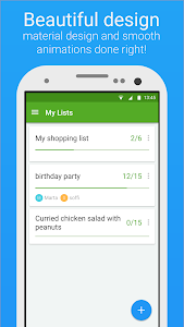 screenshot of Smart Shopping List - Listonic version 5.7.1