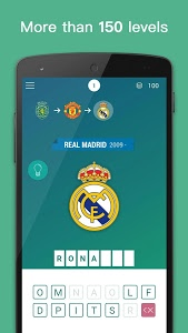 screenshot of Guess The Soccer Player. Football Quiz 2019 version 2.2.1
