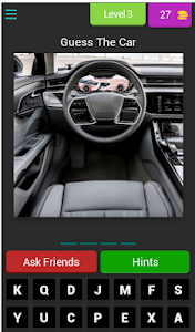screenshot of Guess The Car From Inside version 3.1.8z