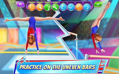 screenshot of Gymnastics Superstar - Spin your way to gold! version 1.2.1