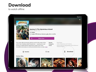screenshot of HOOQ - Stream & Watch Movies, TV Series & More version Varies with device