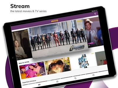 screenshot of HOOQ: Watch Movies, TV Shows, Live Channels & News version Varies with device