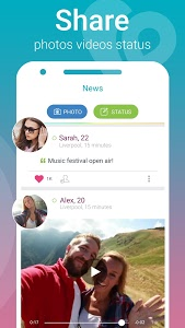 screenshot of HOOTT - Find Chat and Meet version 2.9.9