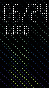 screenshot of HTC Dot View version