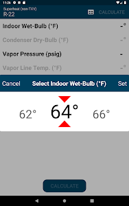 screenshot of HVAC Check & Charge version 2.8.0