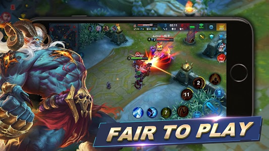 screenshot of Heroes Arena version 2.1.25