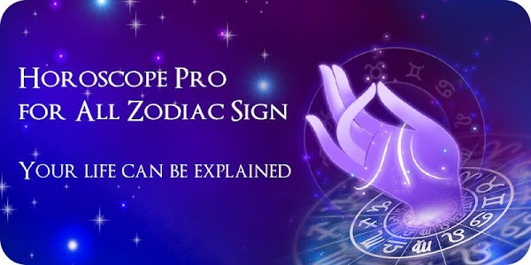 screenshot of Horoscope Pro - Free Zodiac Sign Reading version 1.7.3