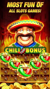 screenshot of Hot Slots: Free Vegas Slot Machines & Casino Games version 1.23.0
