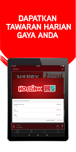 screenshot of Hotlink RED version 4.21.7