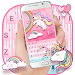 Cuteness Unicorn Keyboard Theme