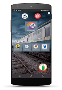 screenshot of IRCTC Rail Connect version 2.1.49