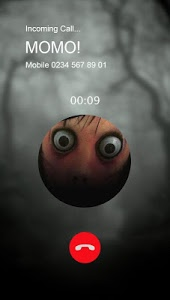 screenshot of Incoming Call from Scary MOMO version 1.0