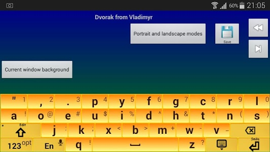 screenshot of Jbak2 keyboard. Keyboard constructor. No ADS version 2.33.17