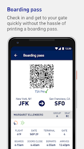 screenshot of JetBlue - Book & manage trips version 4.19.4