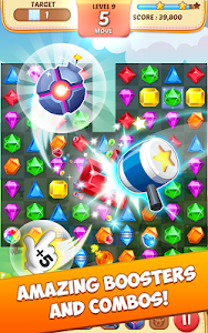 screenshot of Jewel Match King version 5.1.3