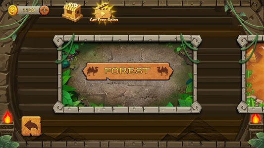 screenshot of Jungle Marble Blast version 2.0.5