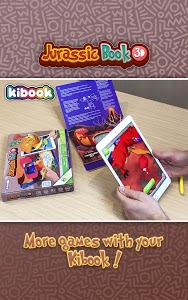 screenshot of Jurassic Book 3D: Draw and play version 0.1