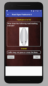 screenshot of K53 Learners Test South Africa version 3.0