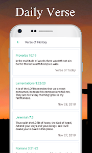 screenshot of KJV Bible App - offline study daily Holy Bible version 2.6