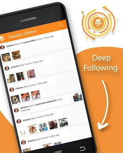 screenshot of Kazuy - Track Your Followers version 1.6.10