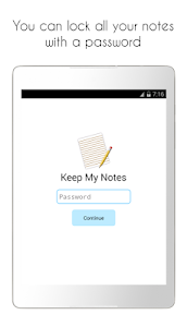 screenshot of Keep My Notes - Notepad, Memo, Checklist version 1.80.11