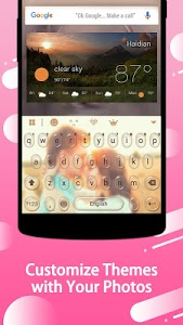 screenshot of Keyboard - wallpapers , photos version 1.0.0.1002