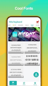 screenshot of Kika Keyboard 2020 - Emoji Keyboard, Stickers, GIF version 6.6.9.5320