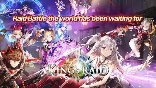 screenshot of King's Raid version 3.9.0