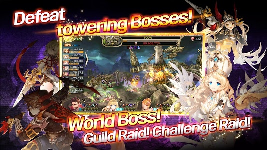 screenshot of King's Raid version 3.15.0