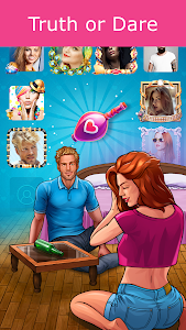 screenshot of Kiss Kiss: Spin the Bottle for Chatting & Fun version 4.7.41003