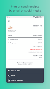 screenshot of POS: Point of Sale, Orders, Inventory & Receipts version 1.17.0