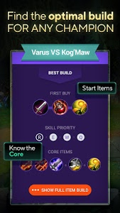 screenshot of LOLSUMO - Builds for League version 2.12.0