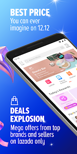screenshot of Lazada - Online Shopping & Deals version Varies with device