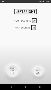 screenshot of Left/Right Game - Challenge Your Brain version 1.1.1