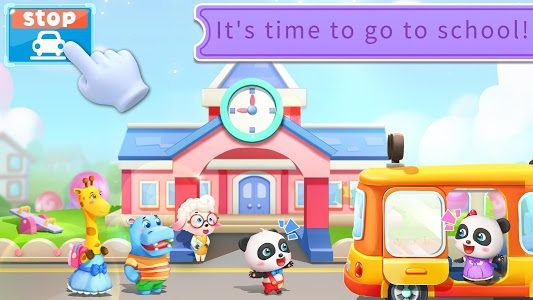 screenshot of Baby Panda's School Bus - Let's Drive! version 8.30.10.00