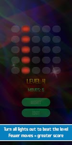 screenshot of Lights Out: Brain Game version 1.1.3