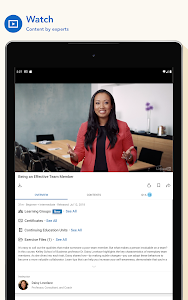screenshot of LinkedIn Learning: Online Courses to Learn Skills version 0.122.1