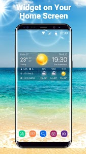 screenshot of Local Weather Widget&Forecast version 16.6.0.50035