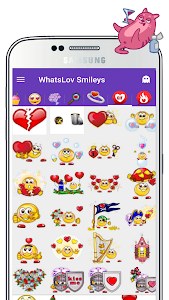 screenshot of 💞 GIF Love stickers. Special Package👇 version 1.3.3