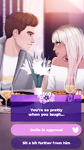 screenshot of Love Story Games: Blog of Secrets version 8.0